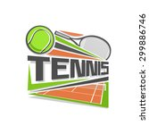 vector illustration for logo... | Shutterstock .eps vector #299886746