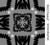 circular seamless  pattern of... | Shutterstock .eps vector #299921546