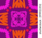 circular seamless  pattern of... | Shutterstock .eps vector #299921552