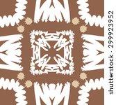 circular seamless  pattern of... | Shutterstock .eps vector #299923952