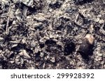 blurred ash resulting from the... | Shutterstock . vector #299928392