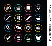 art  design icons universal set ... | Shutterstock . vector #299940482