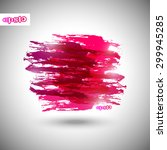 abstract vector grunge banner ... | Shutterstock .eps vector #299945285