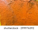 color painted industrial wall... | Shutterstock . vector #299976392