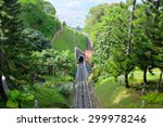 A Tram Railway On Penang Hill ...