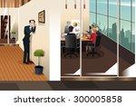 a vector illustration of... | Shutterstock .eps vector #300005858