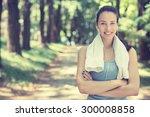 portrait young attractive... | Shutterstock . vector #300008858