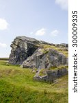 yorkshire landscape  | Shutterstock . vector #300009335
