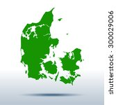 map of denmark | Shutterstock .eps vector #300029006