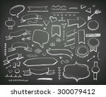 hand drawn sketch hand drawn... | Shutterstock .eps vector #300079412