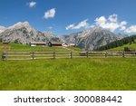 Rural Scene With Mountain Rang...