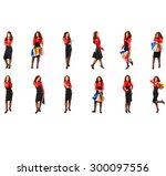 business idea workforce concept  | Shutterstock . vector #300097556