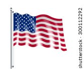 national american united states ... | Shutterstock .eps vector #300112292