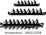 recreational vessels clip art | Shutterstock .eps vector #300112328