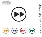 rewind  vector icon   Shutterstock .eps vector #300132935