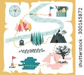 illustration of creative... | Shutterstock .eps vector #300165872