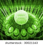 abstract background. green... | Shutterstock . vector #30021163