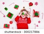 Child Opening Christmas...