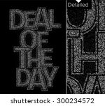 colorl of the day particles...   Shutterstock .eps vector #300234572