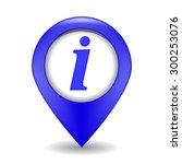 vector blue information web... | Shutterstock .eps vector #300253076