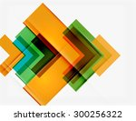 clean colorful unusual... | Shutterstock .eps vector #300256322
