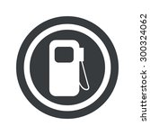 image of gas station symbol in...