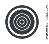 image of aim in circle  on...