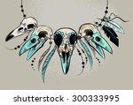 Raven Sugar Mexican Skull....