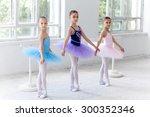Three Little Ballet Girls In...