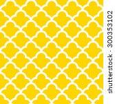 seamless quatrefoil wave... | Shutterstock .eps vector #300353102