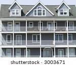 Victorian style architecture made modern. - stock photo