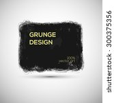 grunge vector template for... | Shutterstock .eps vector #300375356