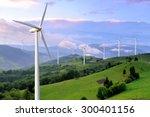 Eco Power. Wind Turbines...