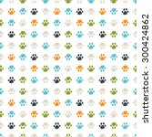 seamless vector pattern  ... | Shutterstock .eps vector #300424862
