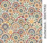 seamless abstract pattern of... | Shutterstock .eps vector #300474932