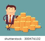 vector illustration of... | Shutterstock .eps vector #300476132
