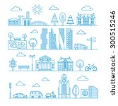 City Design Elements. Linear...