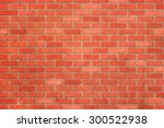 Empty Red Brick Wall Textured...