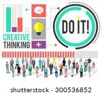 do it goal business improvement ...   Shutterstock . vector #300536852