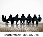 business people conference... | Shutterstock . vector #300537248