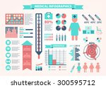 medical  health and healthcare... | Shutterstock .eps vector #300595712