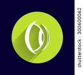 eye icon vision view vector... | Shutterstock .eps vector #300600062