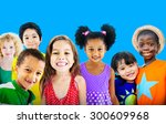 diversity children friendship... | Shutterstock . vector #300609968