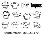 chef or baker white toques ...