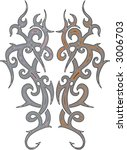tattoo ornament | Shutterstock .eps vector #3006703