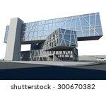 Modern Building. Architecture...