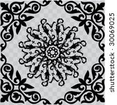 ornate pattern | Shutterstock .eps vector #30069025