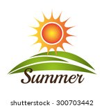 sun and summer design  vector... | Shutterstock .eps vector #300703442