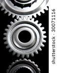 three cogs | Shutterstock . vector #30071116