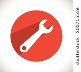 wrench icon. one of set web...   Shutterstock .eps vector #300715526